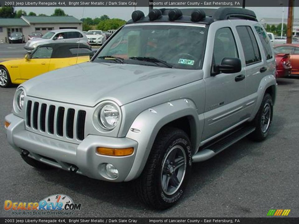 2003 jeep liberty renegade 4x4 bright silver metallic. Black Bedroom Furniture Sets. Home Design Ideas