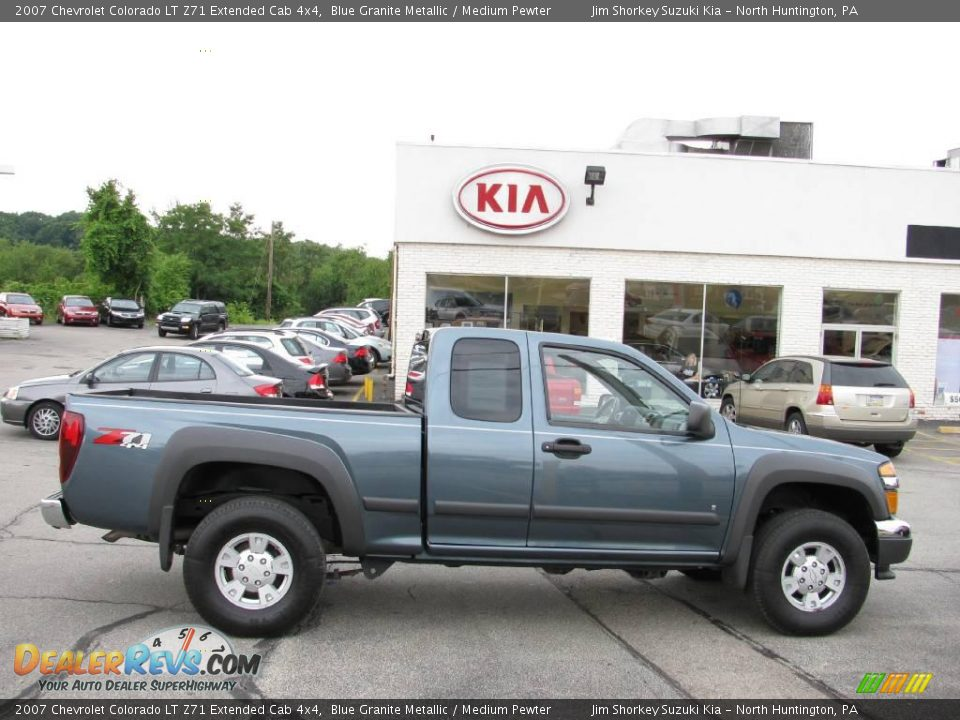 2007 chevrolet colorado lt z71 extended cab 4x4 blue. Black Bedroom Furniture Sets. Home Design Ideas