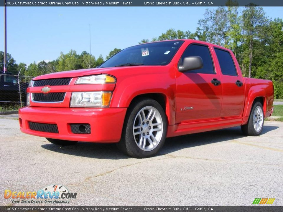 2006 chevrolet colorado xtreme crew cab victory red medium pewter photo 2. Black Bedroom Furniture Sets. Home Design Ideas