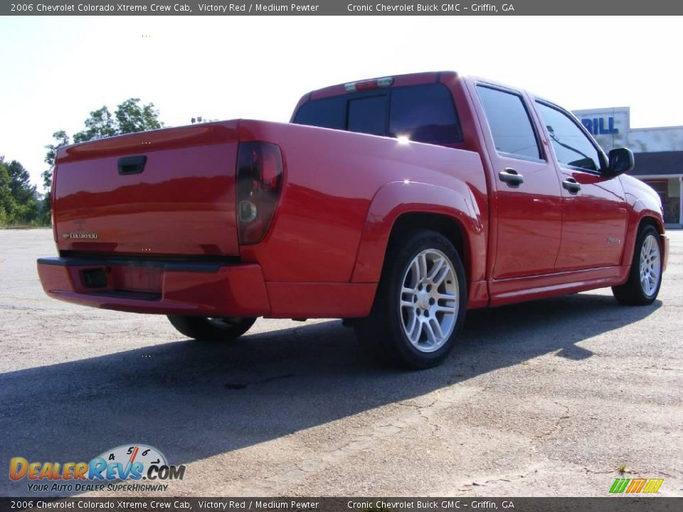2006 chevrolet colorado xtreme crew cab victory red medium pewter photo 6. Black Bedroom Furniture Sets. Home Design Ideas