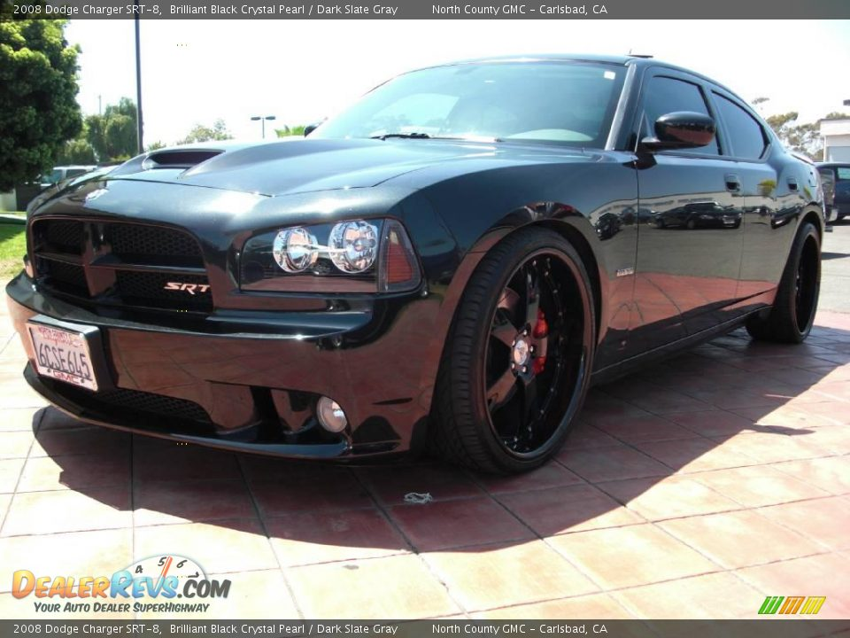 2008 Dodge Charger Srt 8 Brilliant Black Crystal Pearl