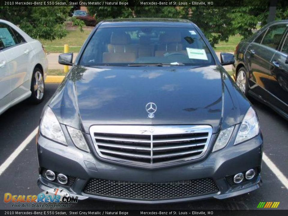 2010 mercedes benz e 550 sedan steel grey metallic for 2010 mercedes benz e350 sedan