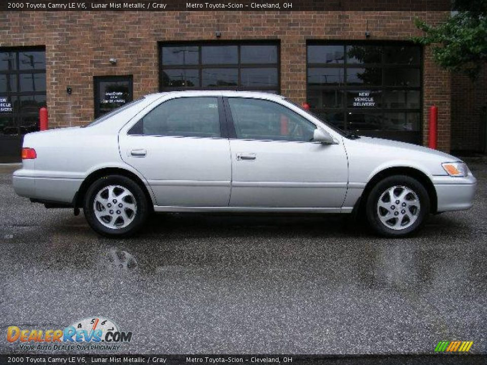 2000 Toyota Camry Le V6 Lunar Mist Metallic Gray Photo