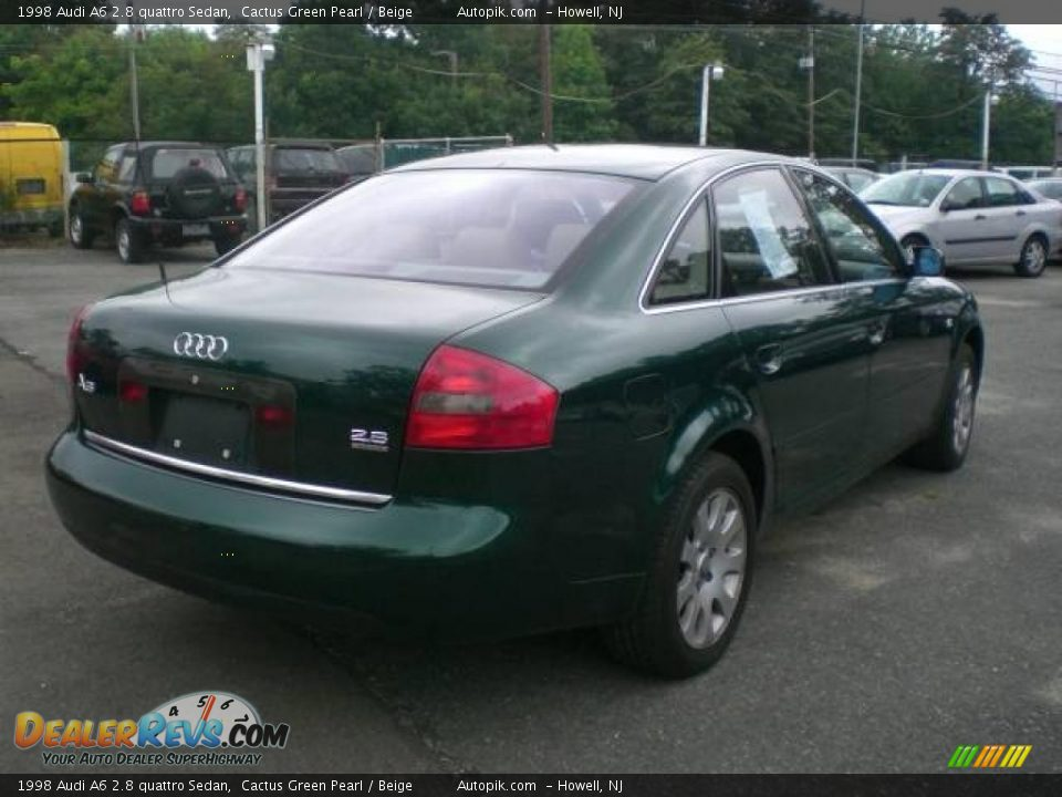 1998 audi a6 2 8 quattro sedan cactus green pearl beige photo 7. Black Bedroom Furniture Sets. Home Design Ideas