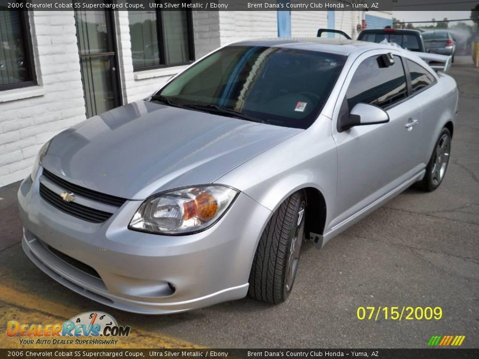 2006 chevrolet cobalt ss supercharged coupe ultra silver metallic ebony photo 1. Black Bedroom Furniture Sets. Home Design Ideas