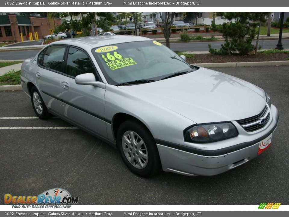 2002 Chevrolet Impala Galaxy Silver Metallic / Medium Gray ...