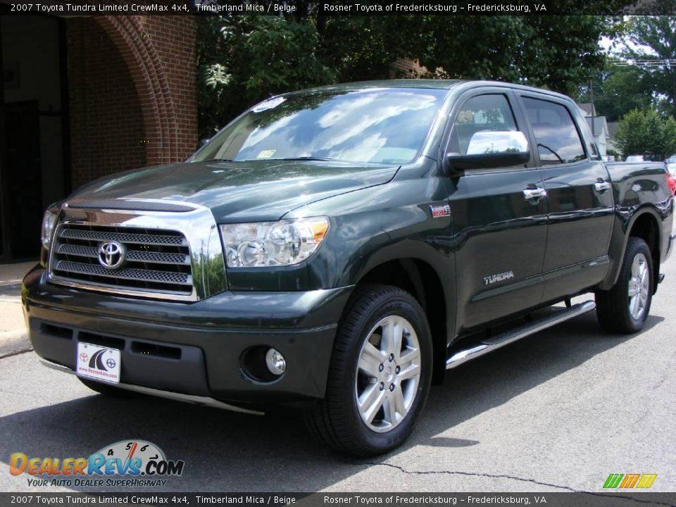 2007 Toyota Tundra Limited Crewmax 4x4 Timberland Mica
