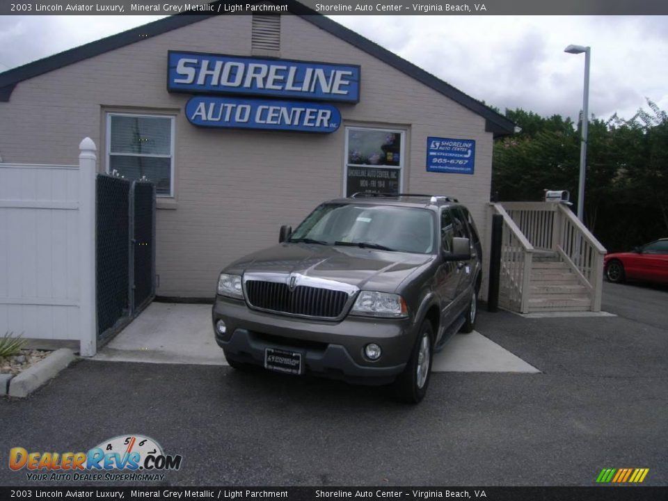 2003 lincoln aviator luxury mineral grey metallic light for State motors lincoln dealer manchester nh