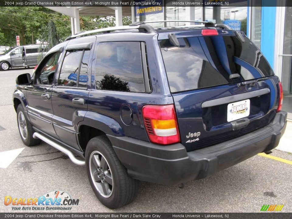 2004 jeep grand cherokee freedom edition 4x4 midnight blue pearl dark slate gray photo 4. Black Bedroom Furniture Sets. Home Design Ideas