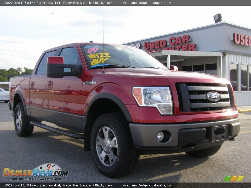 2009 ford f150 fx4 supercrew 4x4 razor red metallic. Black Bedroom Furniture Sets. Home Design Ideas