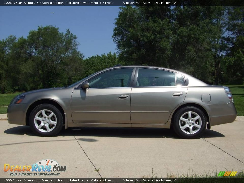 2006 nissan altima 2 5 s special edition polished pewter. Black Bedroom Furniture Sets. Home Design Ideas