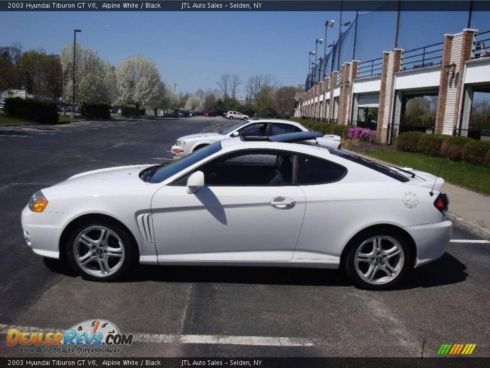 2003 hyundai tiburon gt v6 alpine white black photo 10. Black Bedroom Furniture Sets. Home Design Ideas
