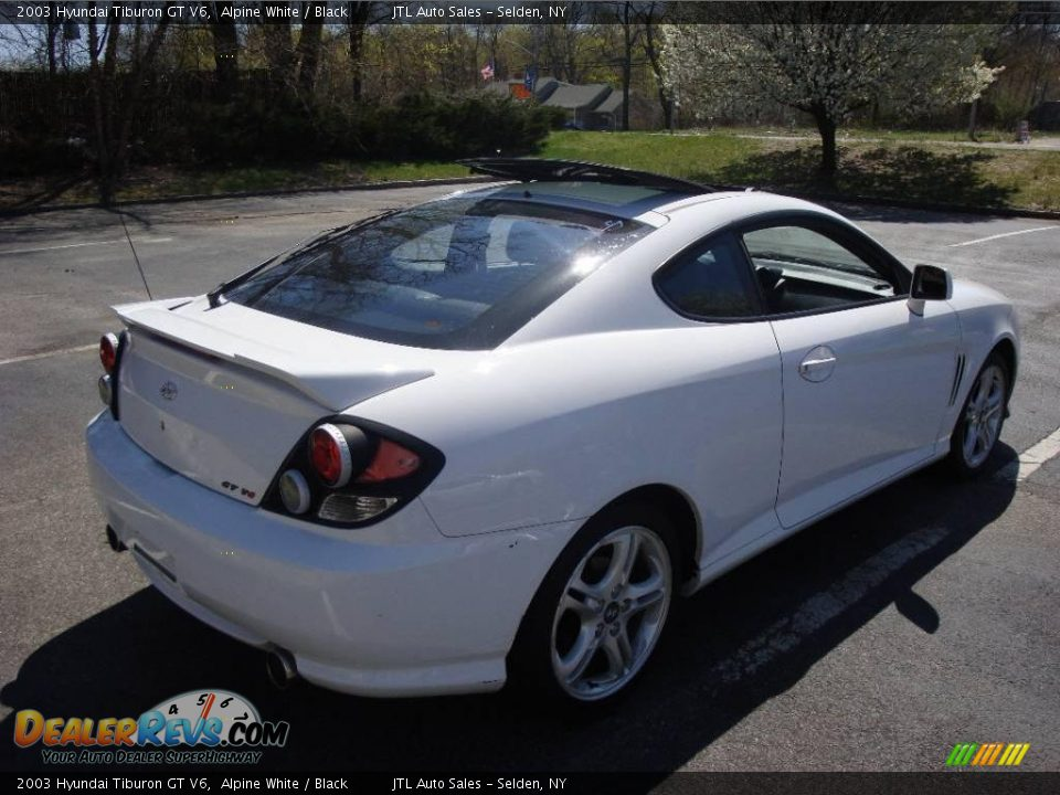 2003 hyundai tiburon gt v6 alpine white black photo 12. Black Bedroom Furniture Sets. Home Design Ideas
