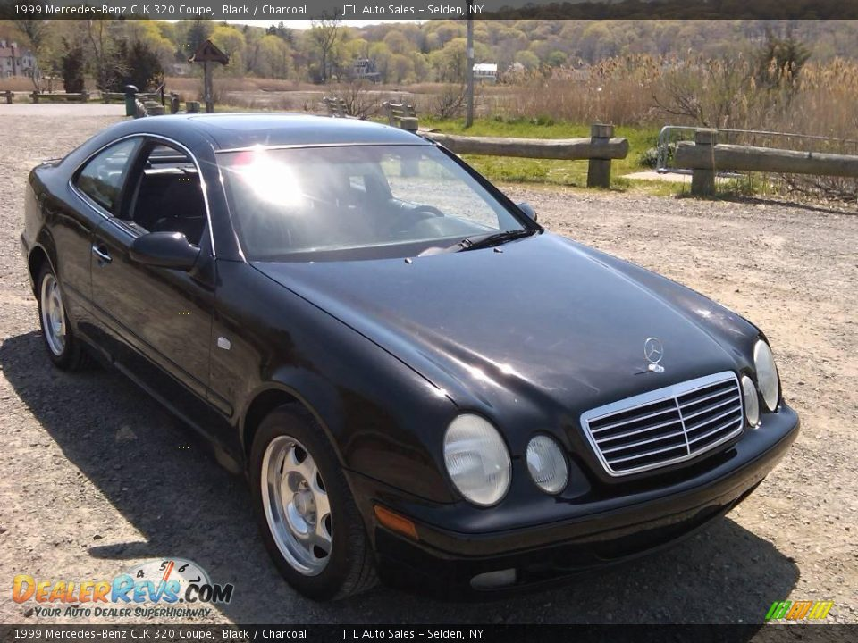 1999 mercedes benz clk 320 coupe black charcoal photo 2