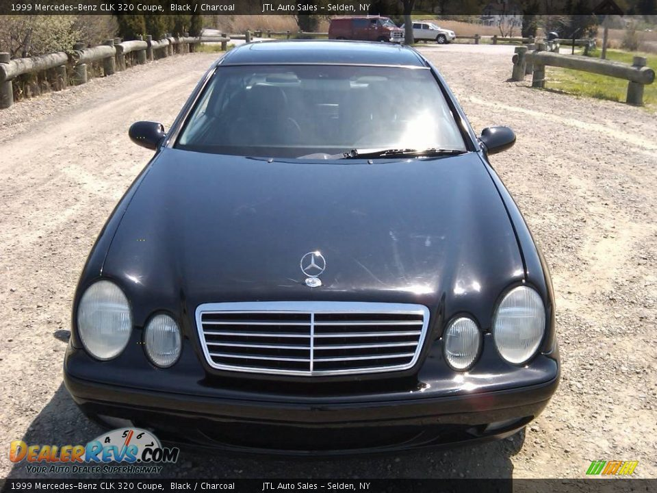 1999 mercedes benz clk 320 coupe black charcoal photo 3. Black Bedroom Furniture Sets. Home Design Ideas