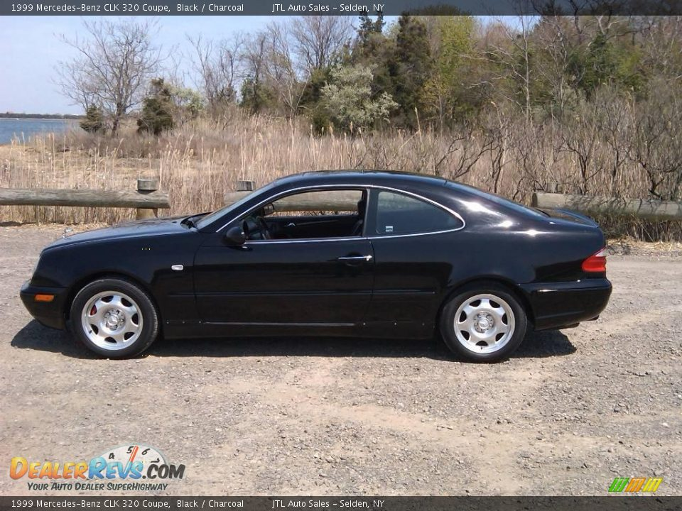 1999 mercedes benz clk 320 coupe black charcoal photo 10. Black Bedroom Furniture Sets. Home Design Ideas