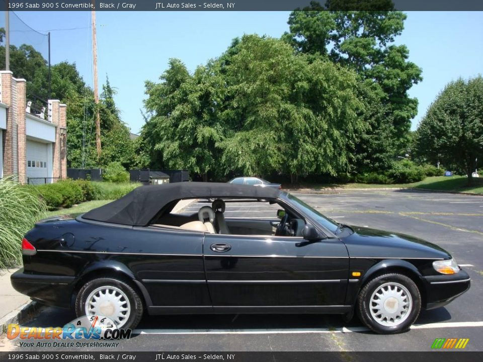 1996 saab 900 s convertible black gray photo 7. Black Bedroom Furniture Sets. Home Design Ideas