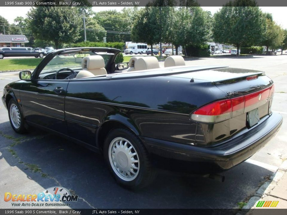 1996 saab 900 s convertible black gray photo 8. Black Bedroom Furniture Sets. Home Design Ideas