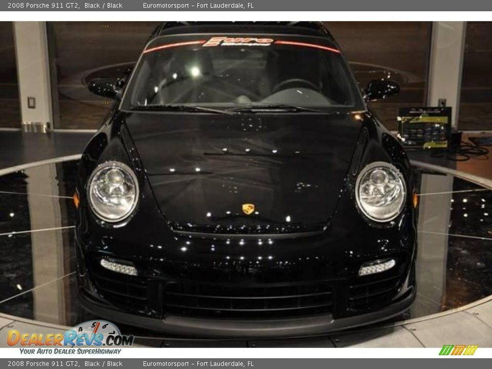 2008 porsche 911 gt2 black black photo 2. Black Bedroom Furniture Sets. Home Design Ideas