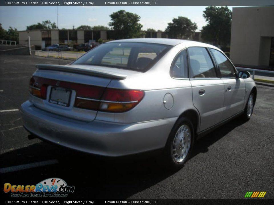 2002 Saturn L Series L100 Sedan Bright Silver / Gray Photo ...
