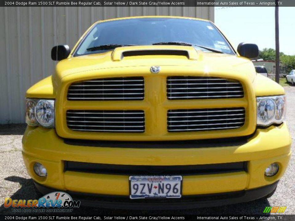 2004 Dodge Ram 1500 SLT Rumble Bee Regular Cab Solar Yellow / Dark ...