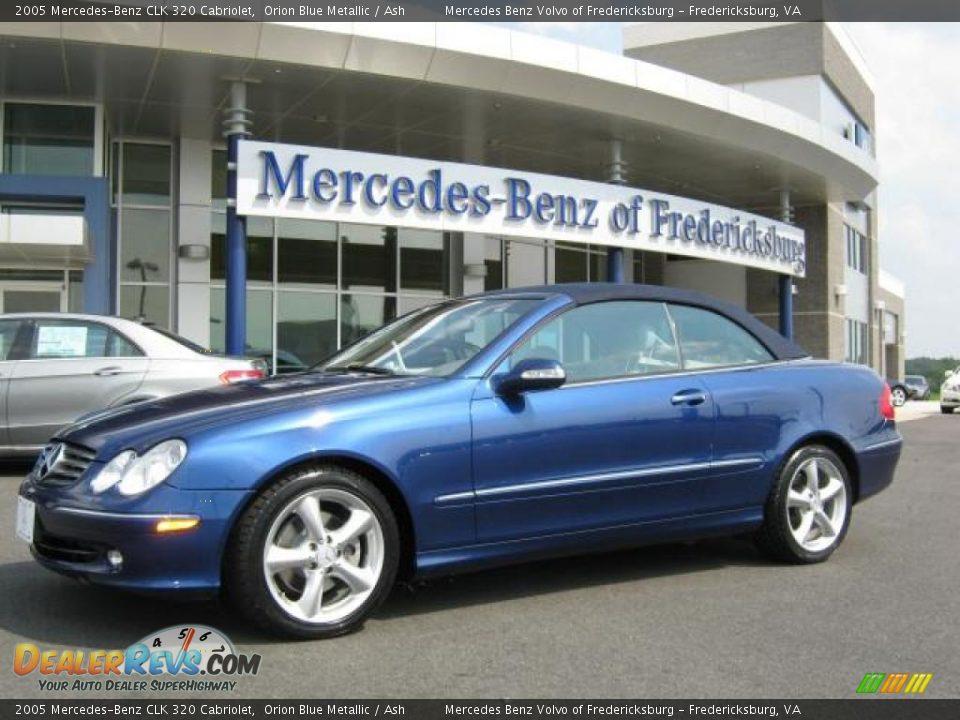 2005 mercedes benz clk 320 cabriolet orion blue metallic for 2005 mercedes benz clk 320