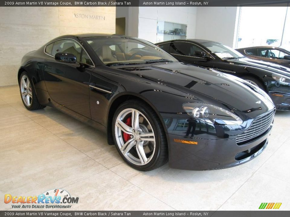 2009 Aston Martin V8 Vantage Coupe Bmw Carbon Black