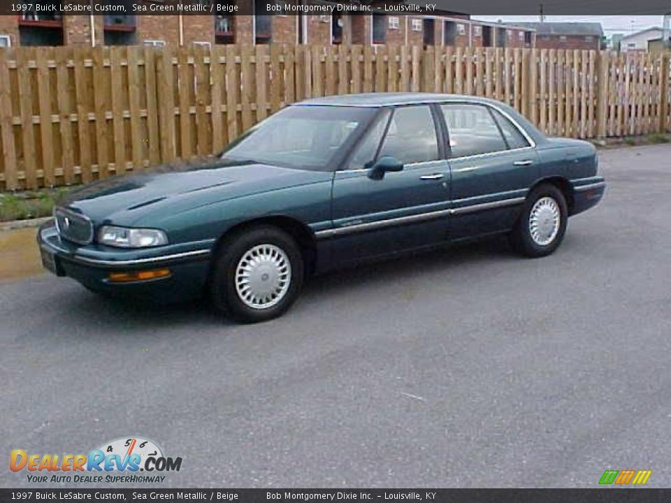 1997 buick lesabre custom sea green metallic beige photo. Black Bedroom Furniture Sets. Home Design Ideas