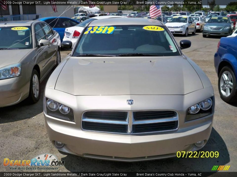 2009 dodge charger sxt light sandstone metallic dark. Black Bedroom Furniture Sets. Home Design Ideas
