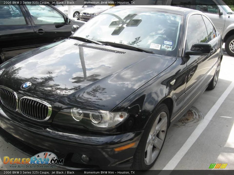 2006 bmw 3 series 325i coupe jet black black photo 3. Black Bedroom Furniture Sets. Home Design Ideas