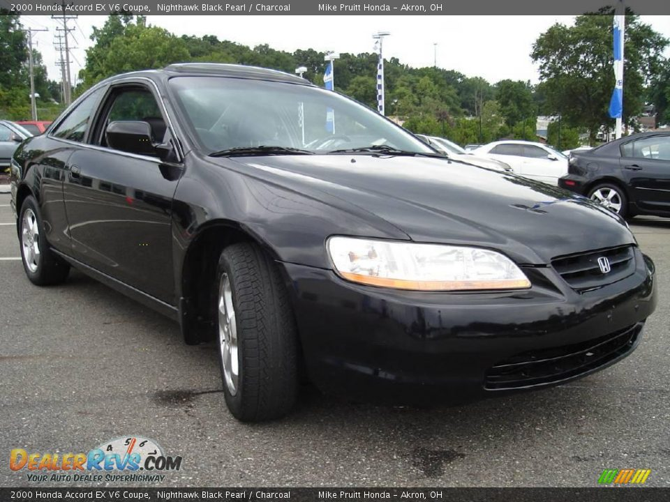 2000 Honda Accord EX V6 Coupe Nighthawk Black Pearl ...