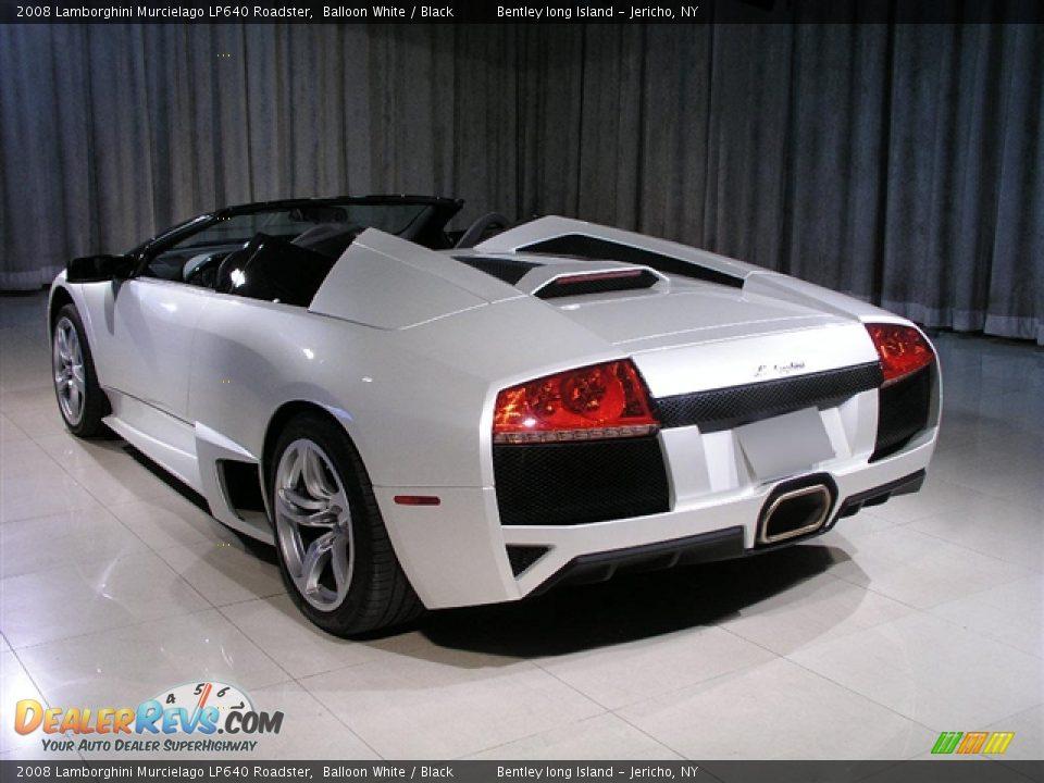 2008 Lamborghini Murcielago Lp640 Roadster Balloon White