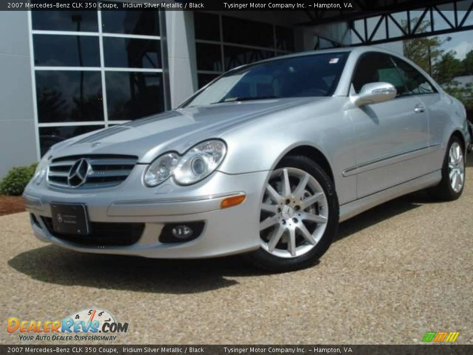 2007 mercedes benz clk 350 coupe iridium silver metallic for 2007 mercedes benz clk