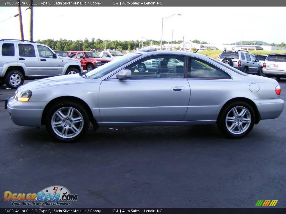2003 Acura Cl 3 2 Type S Satin Silver Metallic Ebony Photo 3 Dealerrevs Com