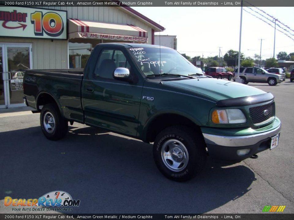 Ford Dealer Locator >> 2000 Ford F150 XLT Regular Cab 4x4 Amazon Green Metallic ...