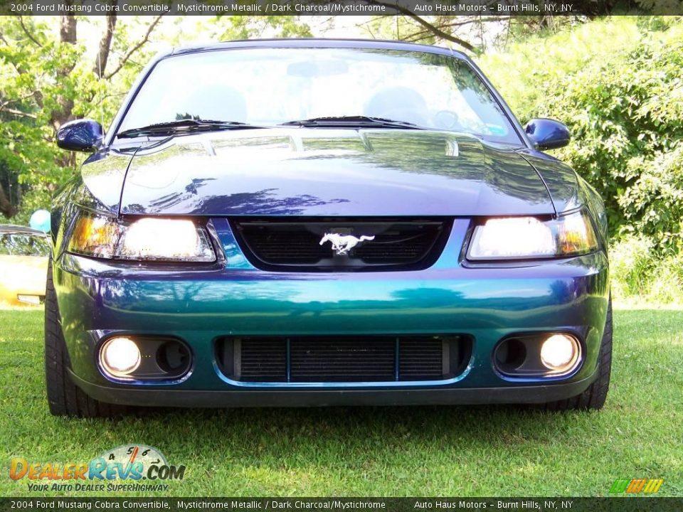 Mystichrome Metallic 2004 Ford Mustang Cobra Convertible