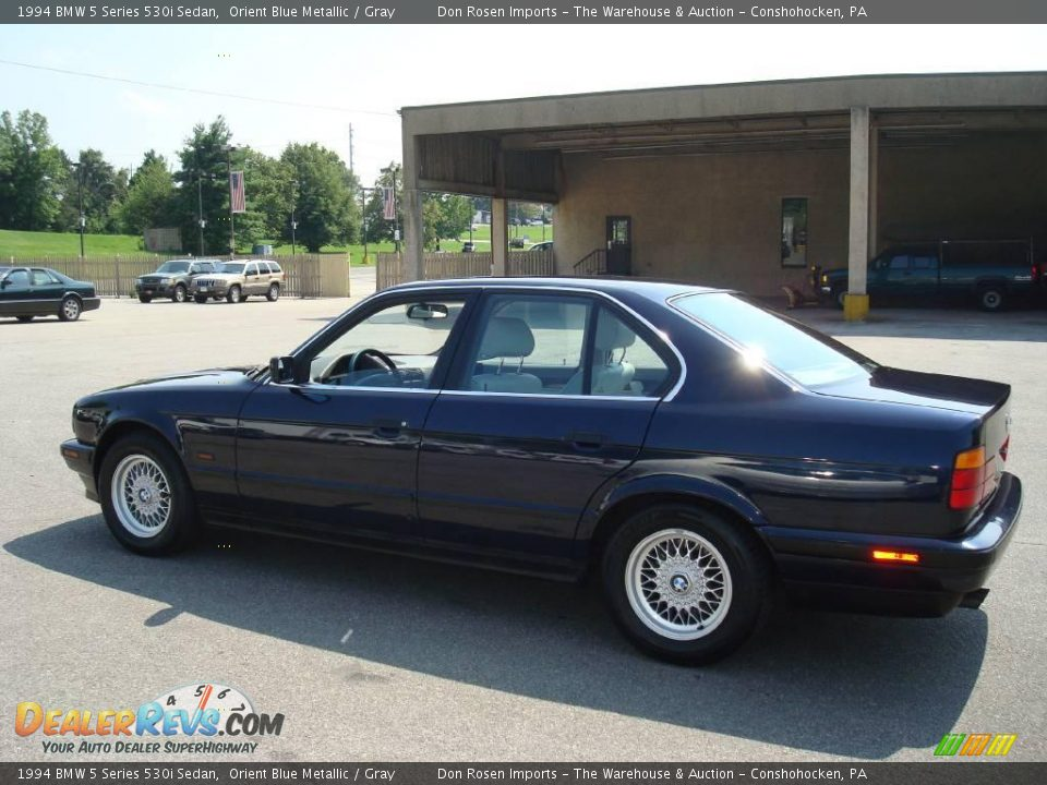 1994 Bmw 5 Series 530i Sedan Orient Blue Metallic Gray
