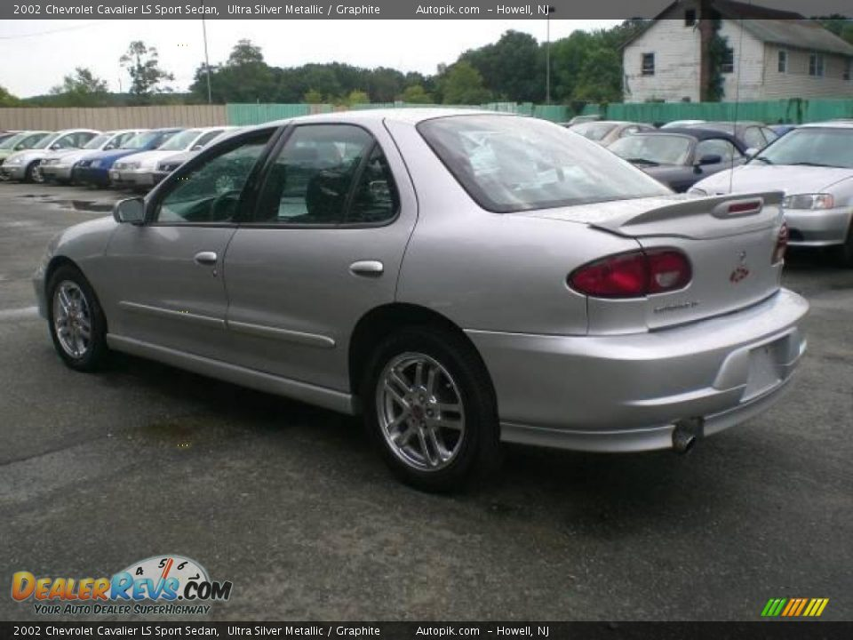 2002 chevrolet cavalier ls sport sedan ultra silver metallic graphite photo 5 dealerrevs com dealerrevs com