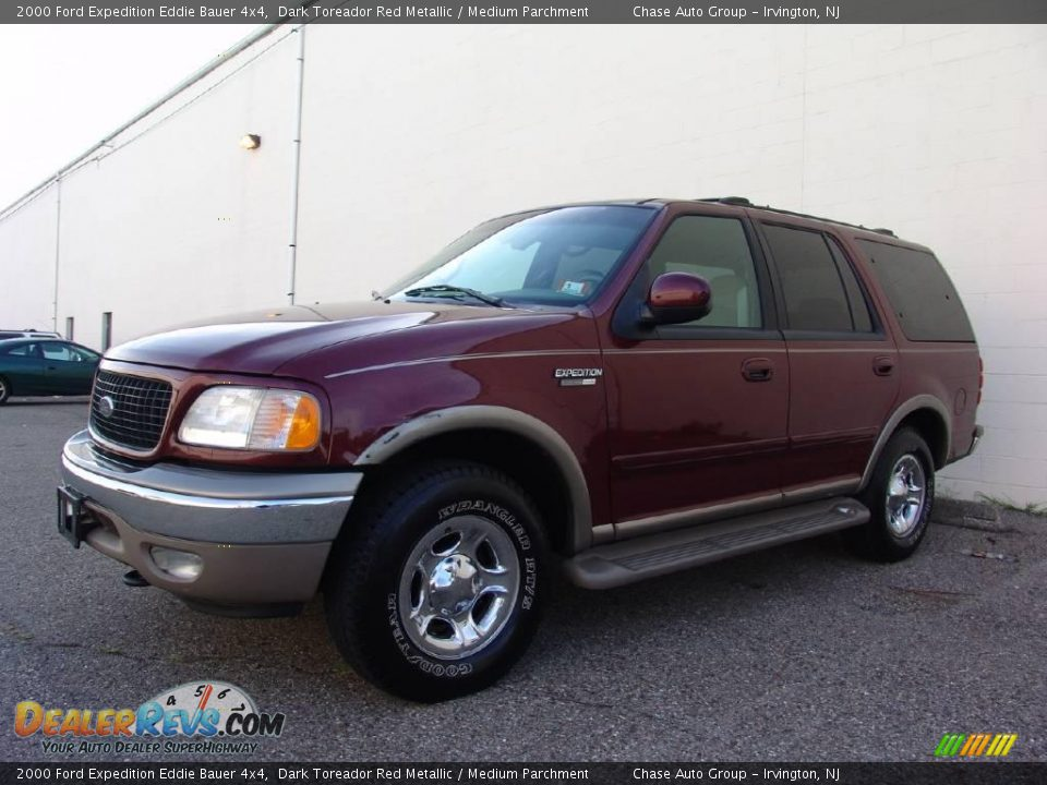 2000 ford expedition eddie bauer 4x4 dark toreador red. Black Bedroom Furniture Sets. Home Design Ideas