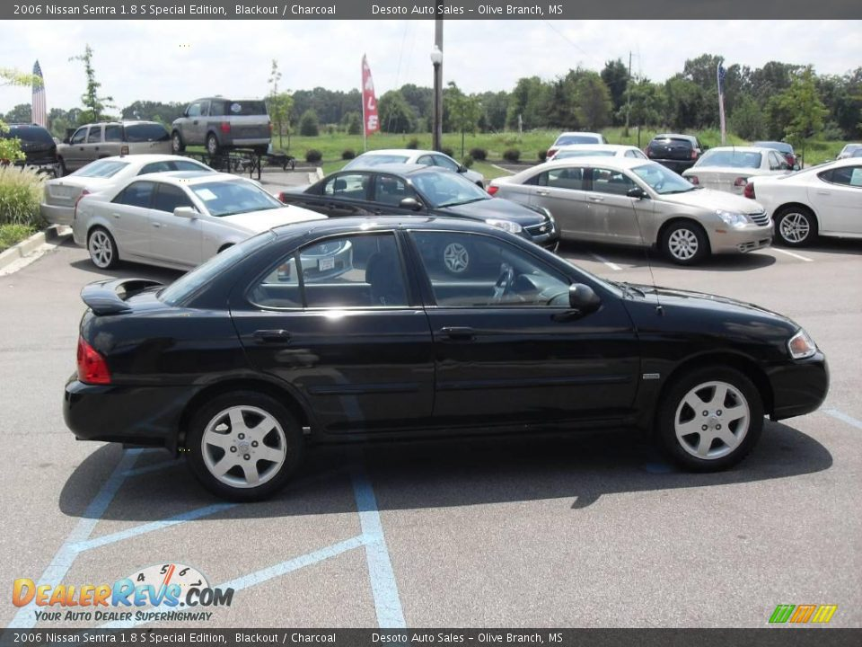 2006 nissan sentra 1 8 s special edition blackout. Black Bedroom Furniture Sets. Home Design Ideas
