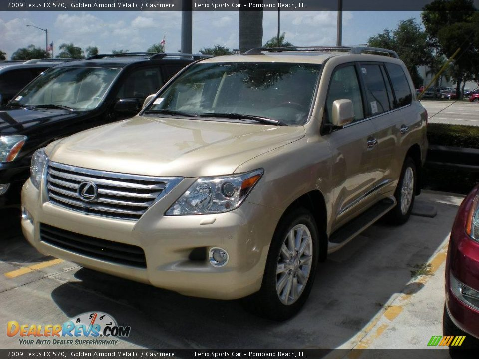 2009 lexus lx 570 golden almond metallic cashmere photo. Black Bedroom Furniture Sets. Home Design Ideas