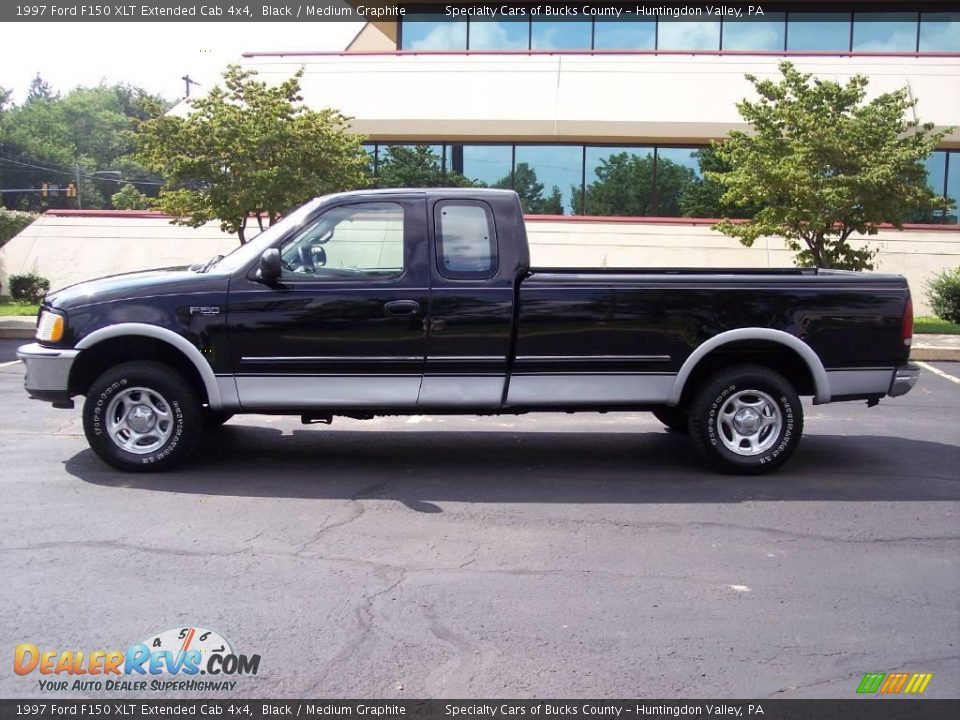 1997 ford f150 xlt extended cab 4x4 black medium graphite photo 6. Black Bedroom Furniture Sets. Home Design Ideas