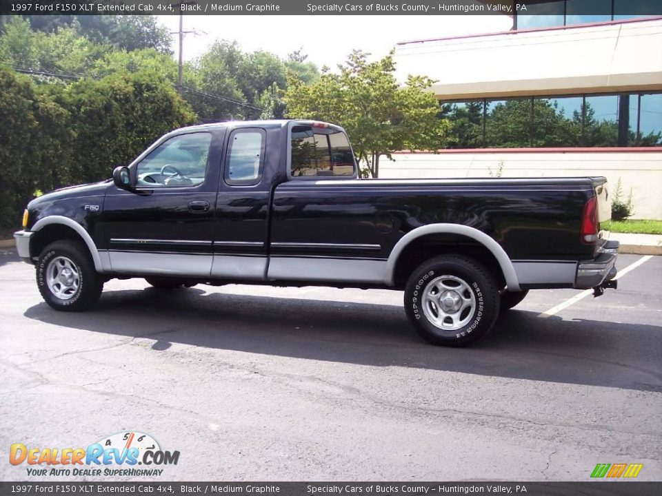 1997 ford f150 xlt extended cab 4x4 black medium graphite photo 7. Black Bedroom Furniture Sets. Home Design Ideas