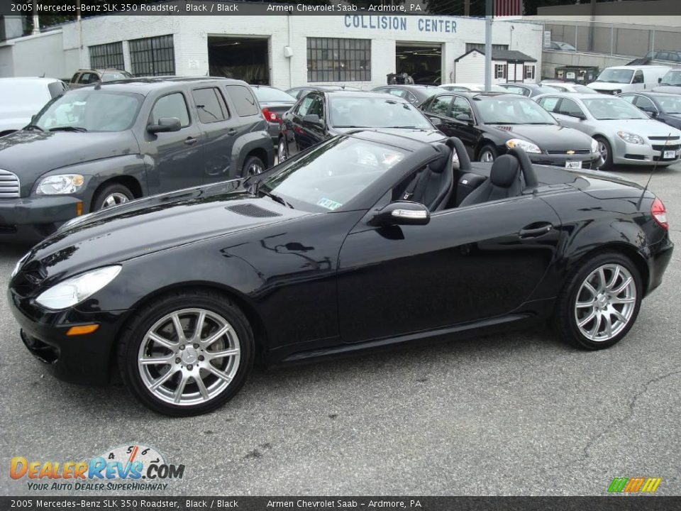 2005 mercedes benz slk 350 roadster black black photo 9. Black Bedroom Furniture Sets. Home Design Ideas