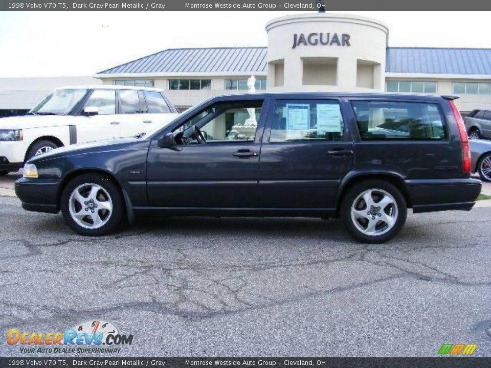 1998 Volvo V70 T5 Dark Gray Pearl Metallic / Gray Photo #2   DealerRevs.com