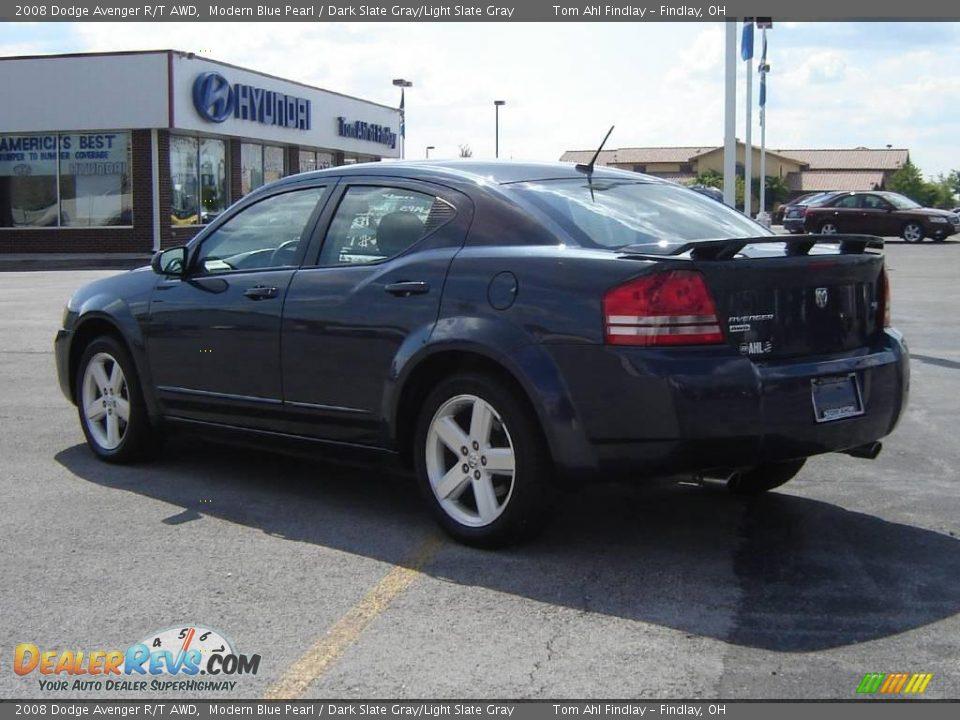 2008 Dodge Avenger R T Awd Modern Blue Pearl Dark Slate