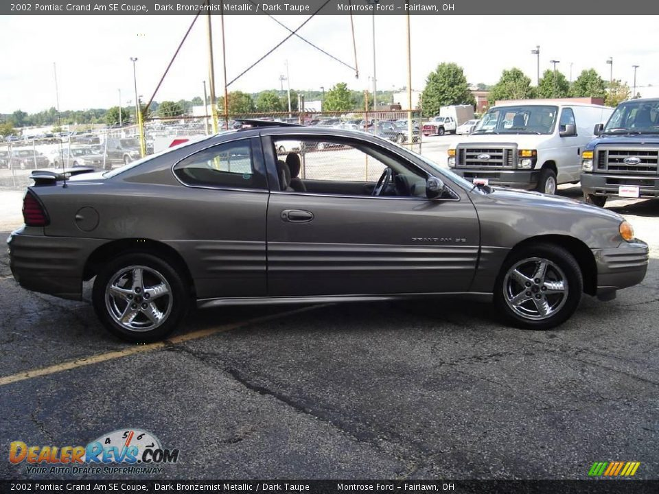 2002 pontiac grand am se coupe dark bronzemist metallic dark taupe photo 6. Black Bedroom Furniture Sets. Home Design Ideas