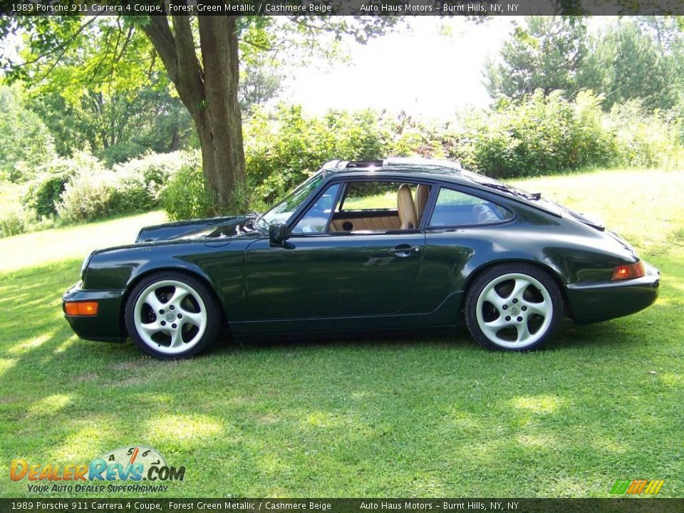 f321c79cd6e35a 1989 Porsche 911 Carrera 4 Coupe Forest Green Metallic
