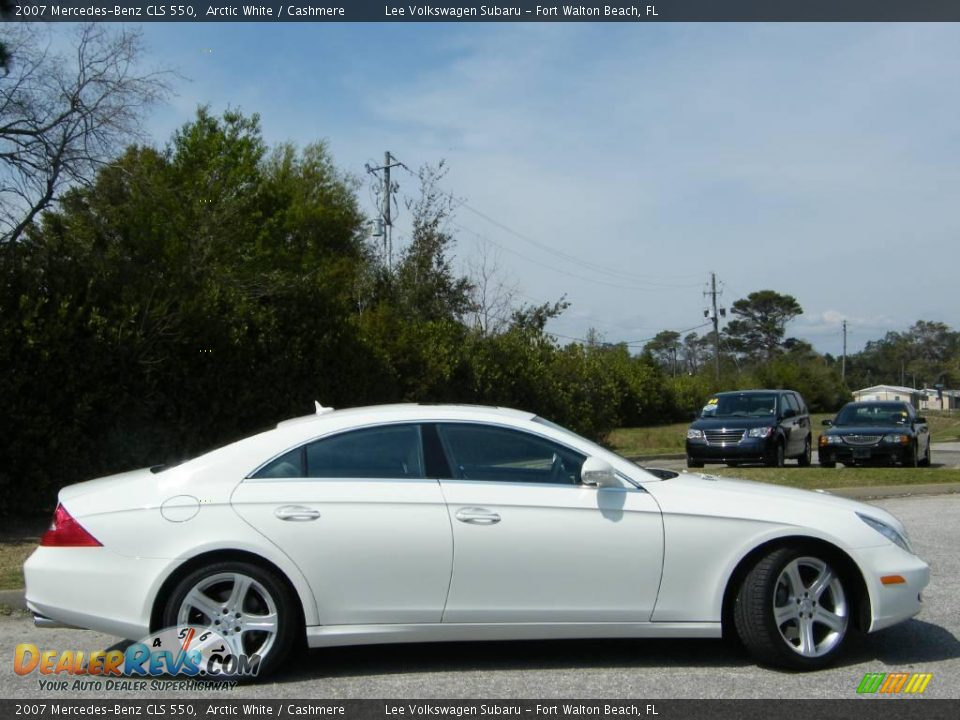 2007 mercedes benz cls 550 arctic white cashmere photo for 2007 mercedes benz cls