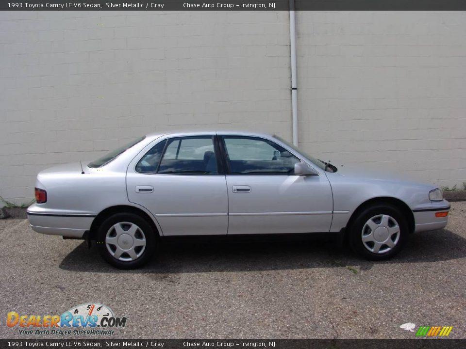 1993 Toyota Camry Le V6 Sedan Silver Metallic Gray Photo